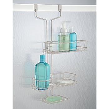 Duschzubehör mdesign duschregal ohne bohren duschablage für shoo duschgel