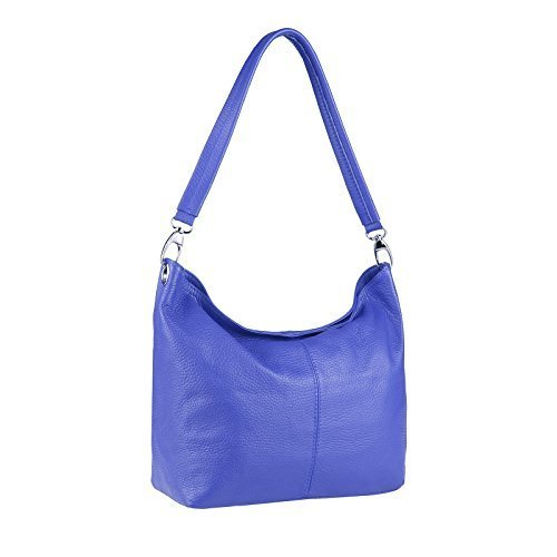 OBC Only-Beautiful-Couture, Borsa a spalla donna argento argento 37x24x13 cm (BxHxT) Blu reale V1