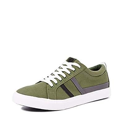 Amazon Brand - Symbol Men's Green Sneakers-10 UK/India (44 EU) (AZ-YS-144C)