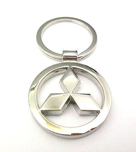 mitsubishi-metal-cromado-coche-logo-llavero-llavero-llavero