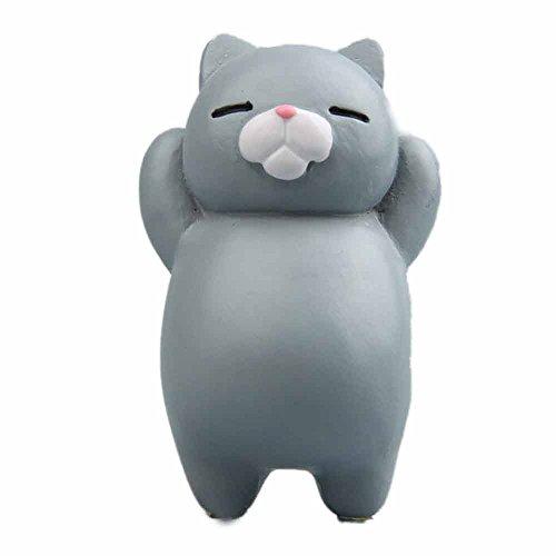 Selou Kühlschrank Aufkleber Lustige Cartoon Tier Katze Kühlschrankmagnet Farbaufkleber Kühlschrank Geschenk Inneneinrichtung Haken Kinderspielzeug Spielzeug Wandmalerei WC-Aufkleber