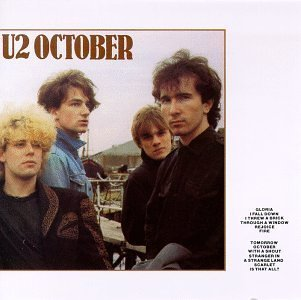 October by U2 (1990) Audio CD (U2-october-cd)