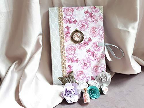 c Notizbuch einzigartig gefüttert, Geschenk-Freund, Geschenk-Paar, Geschenk-Mädchen, Geschenk-Kommunion, Geschenk-Geburtstag, Geschenk Weihnachten, Geschenk-Kommunion. ()