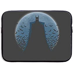 Greatbe Batman Funda Resistente al Agua para maletín ultrabook Maletín Funda para portátil 13/15 Pulgadas para MacBook Pro/MacBook Air/Surface Book/Surface Laptop