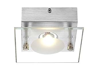 deckenlampe wandleuchte deckenleuchte wandlampe led beleuchtung globo 49200 1. Black Bedroom Furniture Sets. Home Design Ideas
