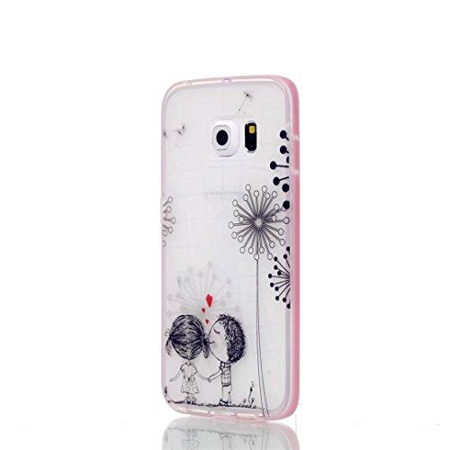 JINCHANGWU Custodia per iPhone 5 5S 5G SE' Case Ultra Slim Protettivo Cover conchiglia Silicone TPU frame protettiva posteriore caso Shock Assorbimento Anti Scivolo--Don't give up strong cat Ah04