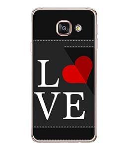PrintVisa Awesome Love High Gloss Designer Back Case Cover for Samsung Galaxy A5 (6) 2016 :: Samsung Galaxy A5 2016 Duos :: Samsung Galaxy A5 2016 A510F A510M A510Fd A5100 A510Y :: Samsung Galaxy A5 A510 2016 Edition