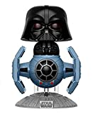 Funko 13920 - Pop Vinyl Star Wars Darth Vader W/Tie Fighter Figure 176, 10 cm