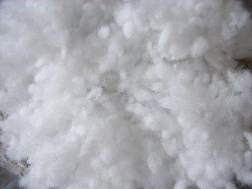 Polyester Faserkügelchen 10 kg,(EUR 6,99/kg), virgin-type, weiß, silikonisiert, maschinenwaschbar bis 95 °C, Öko-Tex Standard 100, Produktklasse 1 , Faserbällchen, geeignet als Füllmaterial für z.B. Plüschtiere, Puppen, Bären, Kissen usw. ... .
