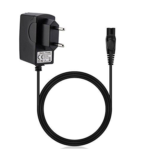 Aukru Ladegerät Netzteil 15V für Philips Rasierer Grooming Kit/Multigroom / Multigroom Pro Trimmer QG3200 QG3300 Serie (Bodygroom 3100, 3200, 5100, 7100 // Modelle: QG3260, QG3280, QG3280 / 41