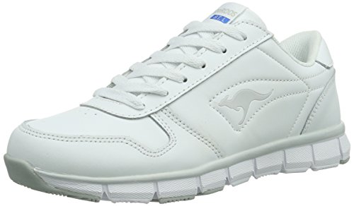 KangaROOS  K-BlueRun 700, Baskets pour femme Blanc - Weiß (white/lt grey 002)