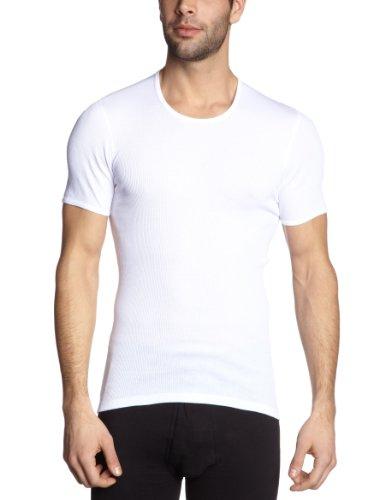 Schiesser Herren Unterhemd 005068-100, Gr. 7 (XL), Weiß (100-weiss)