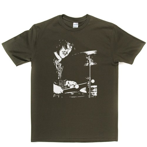 Bonzo Rock Music Graphic Tee T-shirt Militärgrün