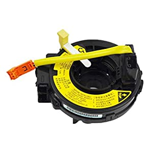 Floridivy 84306-0D021 Plastic Airbag Spiral Cable Clock Spring Car Replacement for Toyota Soluna Vois Corolla