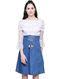 d3731cc4b458 Denim Women s Dresses  Buy Denim Women s Dresses online at best ...