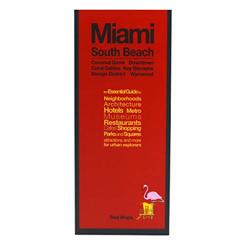 Red Maps MIAMI & SOUTH BEACH Street Map and City Guide