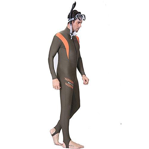 A Point Liebhaber Neoprenanzug Dry Suit Lycra Full Body Tauchanzug und Sport Skins für Tauchen, Schnorcheln, schwimmen, speerfischen Men 4XL(178-184cm)