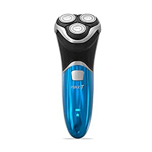 MAX-T RMS6101 Electric Shavers Men IPX7 100% Waterproof Rechargeable Electric Razor for Men Wet & Dry with Pop-up Trimmer