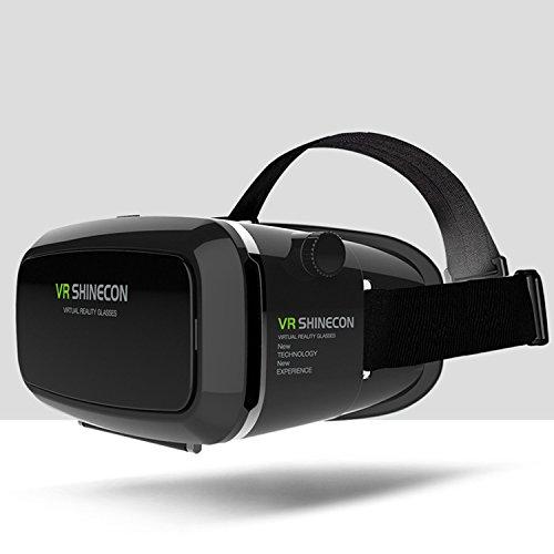 Tepoinn - Gafas de Realidad Virtual 3D VR con lente ajustable y correa