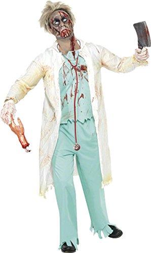 Zombie-Doktor-Kostüm Halloween für (Kostüme Zombie Doktor)