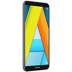 """Honor 7A - Smartphone con Pantalla DE 5.7""""(4G, Octa Core, cámara 13 MP y Frontal 8 MP, 2 GB de RAM, 16 GB de ROM, reconocimiento Facial, Lector de Huellas, Android), Negro"""
