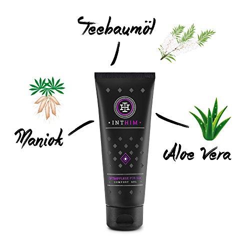 Shave Gel-tube (IntHim - Intim & Body Comfort - After Shave Gel - Bekannt aus Die Höhle der Löwen (1 x 100 ml))