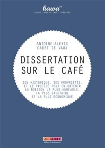 Dissertation sur le café