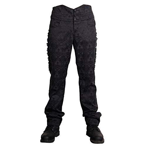 WLM Pantalones Rectos para Hombres, Pantalones de Baile,...