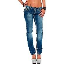 a10734a77b03 Cipo   Baxx Damen Jeans Hose Hüftjeans Skinny Slim Fit Stretch Röhre  Freizeithose