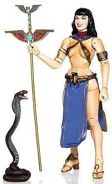 Bettie Page Action Figure Cleopatra