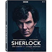 Sherlock - Temporadas 1-4 + La Novia Abominable