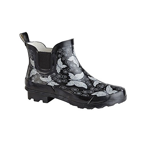 Marlow Butterfly Printed Ankle Welly
