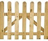 Gardenzooshop - Cancello In Legno 100x90 h