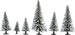 NOCH 26828 - Árboles de Nieve (25 Unidades, 5 a 14 cm)