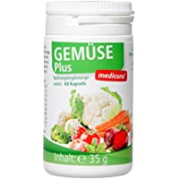 Gemüse Plus Kapseln 60 Stck. preisvergleich bei billige-tabletten.eu