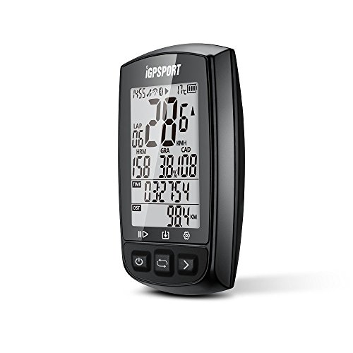 41Kn3%2BlYc3L. SS500  - IGPSPORT GPS Bike Computer iGS50E Wireless Cycle Computer Waterproof Compatible Speed Cadence Heart rate Sensor (Not…