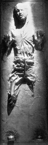 Empireposter - Star Wars - Han Solo Carbonite - Größe (cm), ca. 53x158 - Türposter zusätzlich erhalten Sie ein Überraschungs-Poster der Größe 61x91,5 (Solo Wars Von Star)