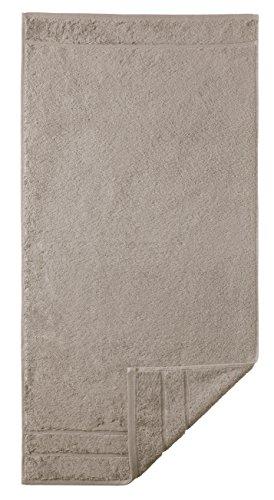 Egeria 25001 Prestige Seiftuch, Baumwolle, taupe, Größe 30 x 30 cm
