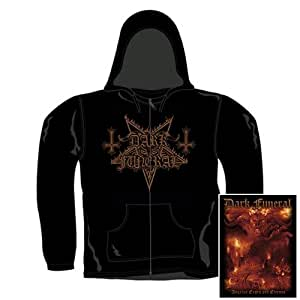 Dark Funeral - Zip Pull-over à Capuche Angelus Exuro Pro Eternus (in L)