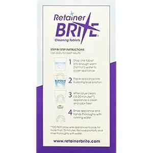 Retainer Brite Reinigungstabletten