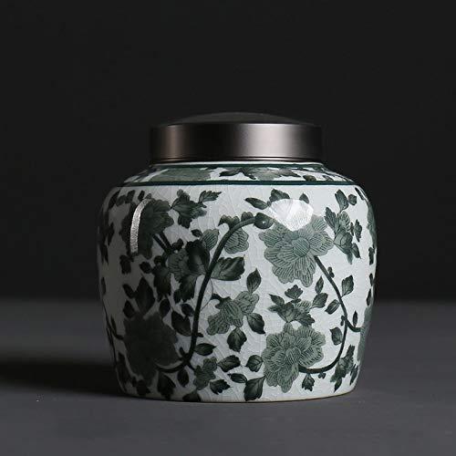 WMM Begräbnis Keramik Haustier Feuerbestattung Urne for Asche Katze und Hund kleine Tiere Sarg (Color : B) (Tier-sarg)
