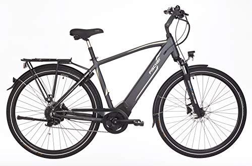 FISCHER Herren - E-Bike Trekking VIATOR 5.0i (2019), grau matt, 28