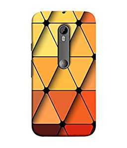 Motorola Moto G Turbo Edition Back Cover, Motorola Moto G Turbo Edition Back Case Seamless Vector Texture With Red Garnet Tiles Design From Printvisa