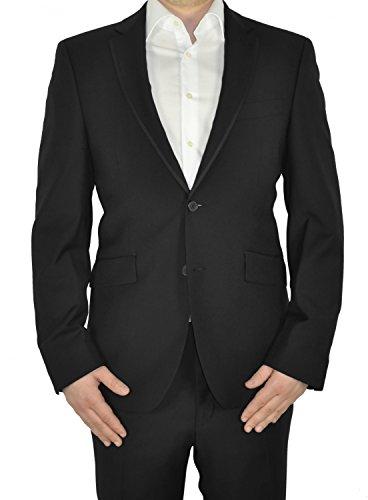 Michaelax-Fashion-Trade - Blazer - Uni - Manches Longues - Homme Schwarz (00)