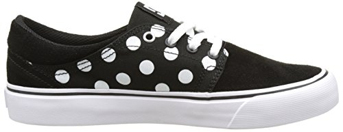 DC Shoes - Trase Se, Basse Donna Noir (Black/White Print)