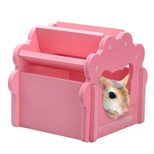 pink-wooden-cottage-house-for-hamsters-or-gerbils