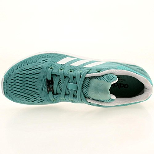 Adidas Youths ZX Flux Mesh Trainers blue / ocean / white