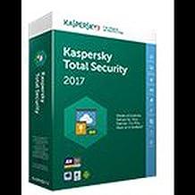 Kaspersky - Software antivirus 2017 total security 5 licencias