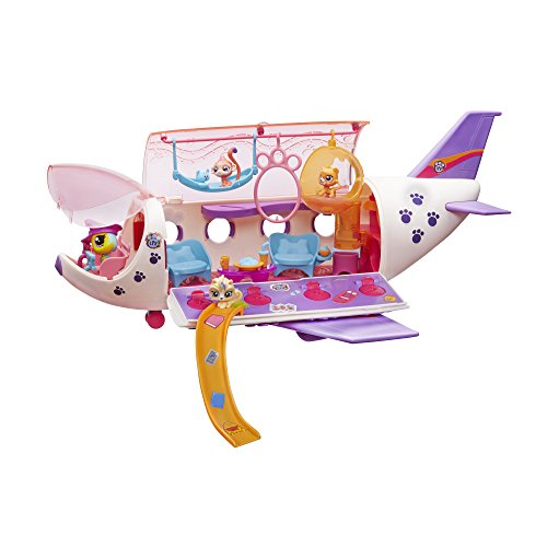 Littlest PetShop - B1242eu40 - Mini-poupée - L'avion 7706683098336