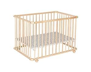 geuther laufgitter belami klein natur bl mchen baby. Black Bedroom Furniture Sets. Home Design Ideas